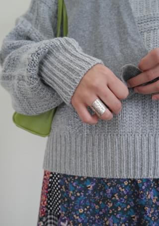 mosaic flexible ring