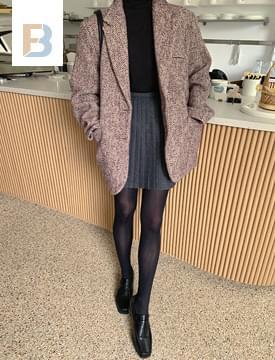Bread Wool Tailored Tweed Jacket