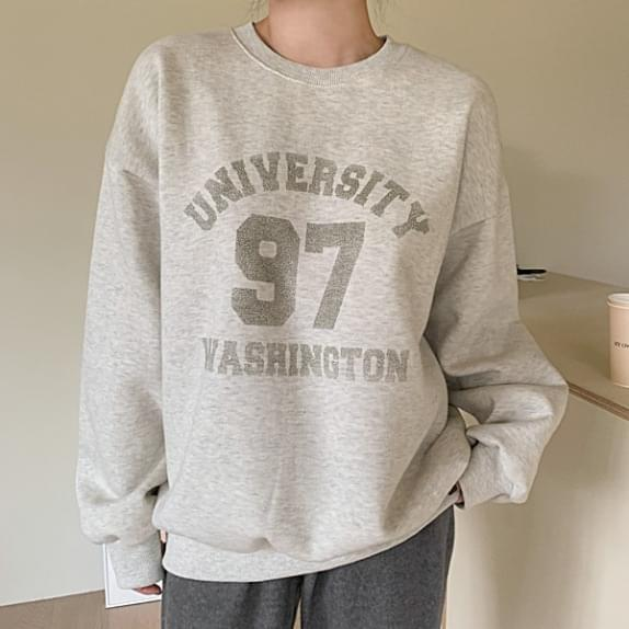 Raised in Fleece-lined Sweatshirt T♥ 長袖上衣