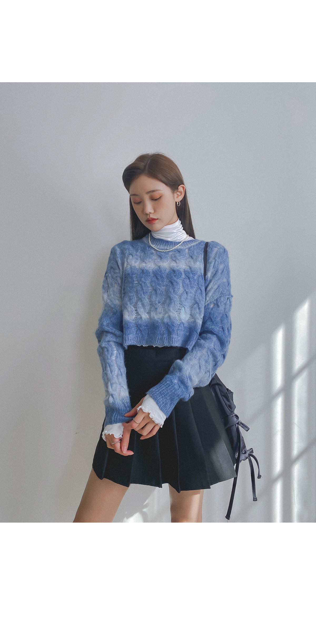 Cable Gradient Knit
