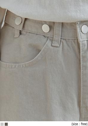 BANON WIDE COTTON PANTS