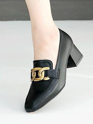 Youez Middle Heel Pumps 5cm