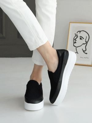 Eater heel slip-on 4cm