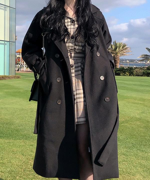 Jeanne Daily Long Wool Coat (Delayed delivery)