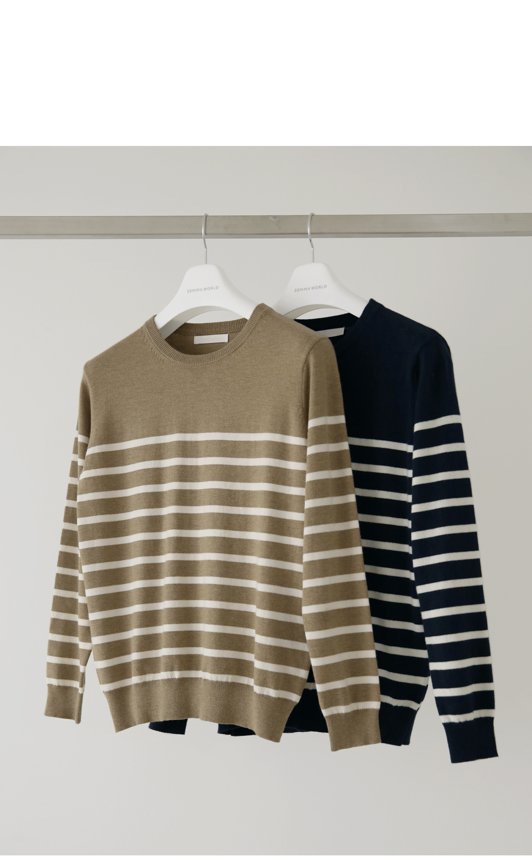 Soft Cash Stripe Knit