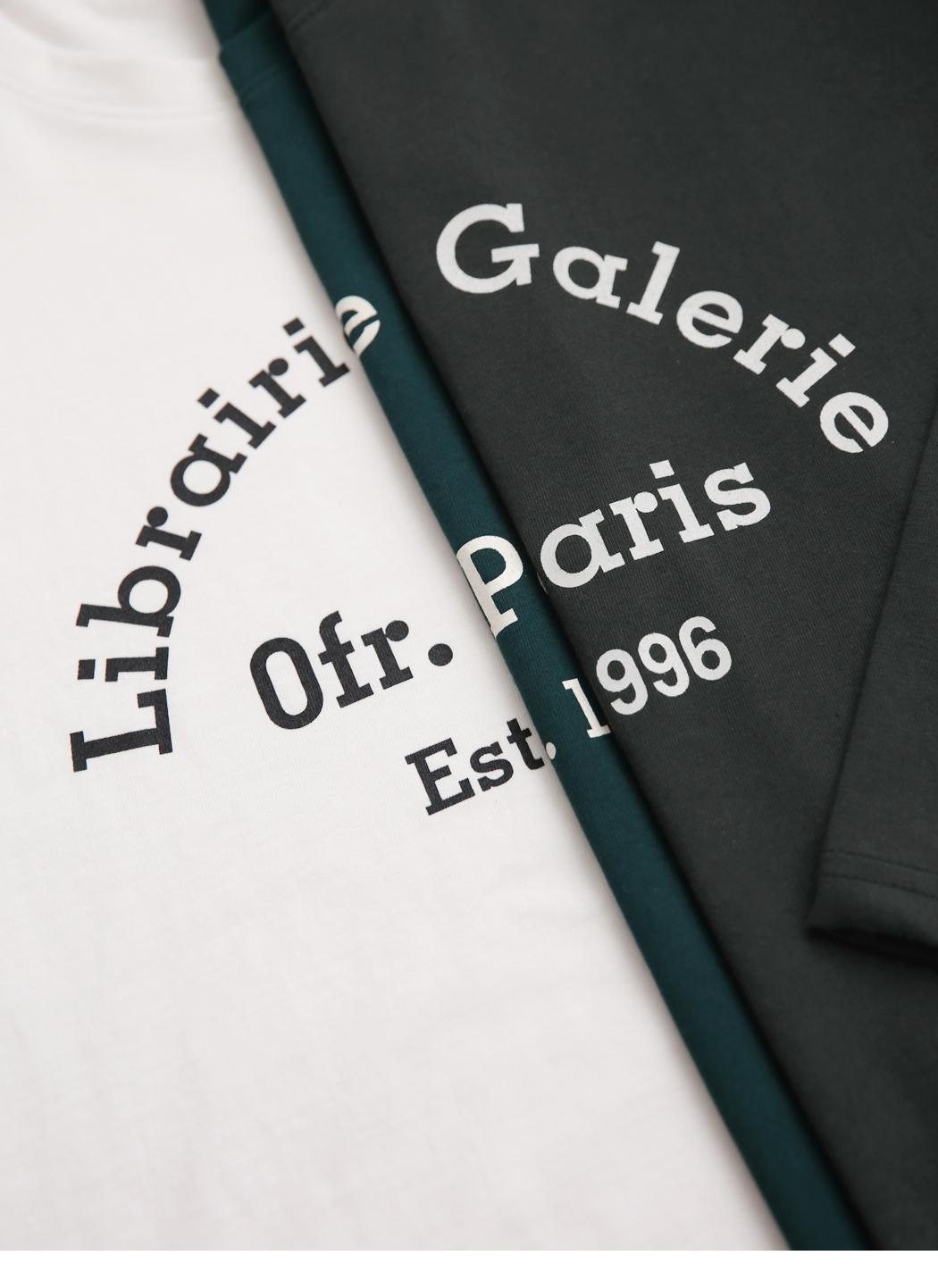 'Galerie' printed long sleeved tee