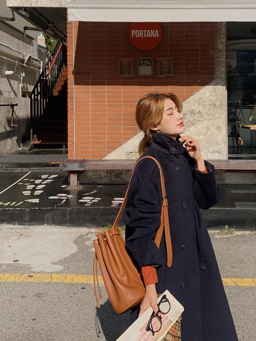 Two wayne overfit long coat