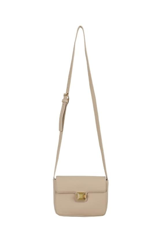 Rossi matte square shoulder bag