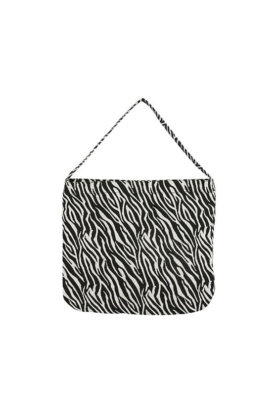 Joy Zebra Square Eco Bag