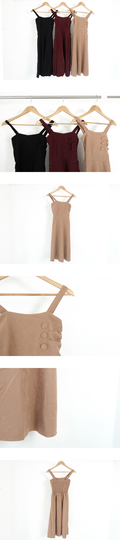 Rudy Flare Suspenders Dress