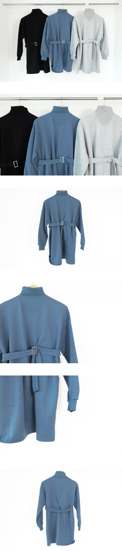 Paul Bell Half-Pola Belt Dress