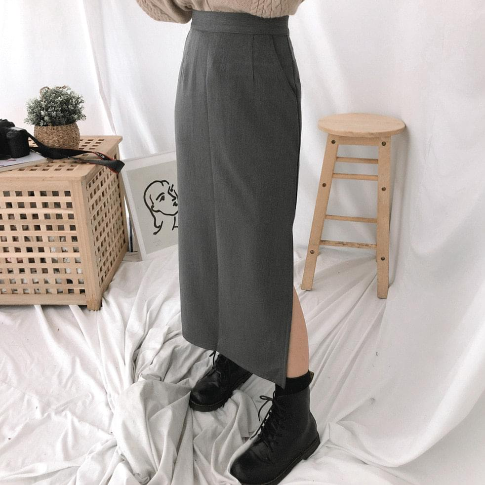 Signal side split skirt