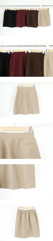 Pocky golden mini skirt