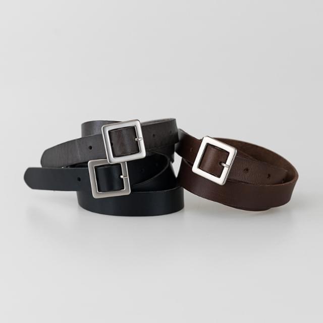 Daily tone down cowhide belt