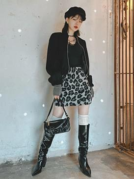Leopard rona skirt