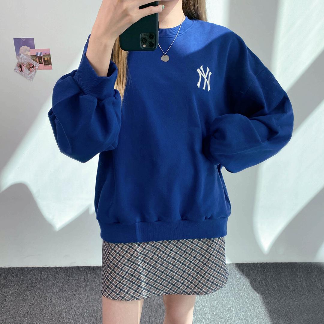 NY刺繡長袖運動衫