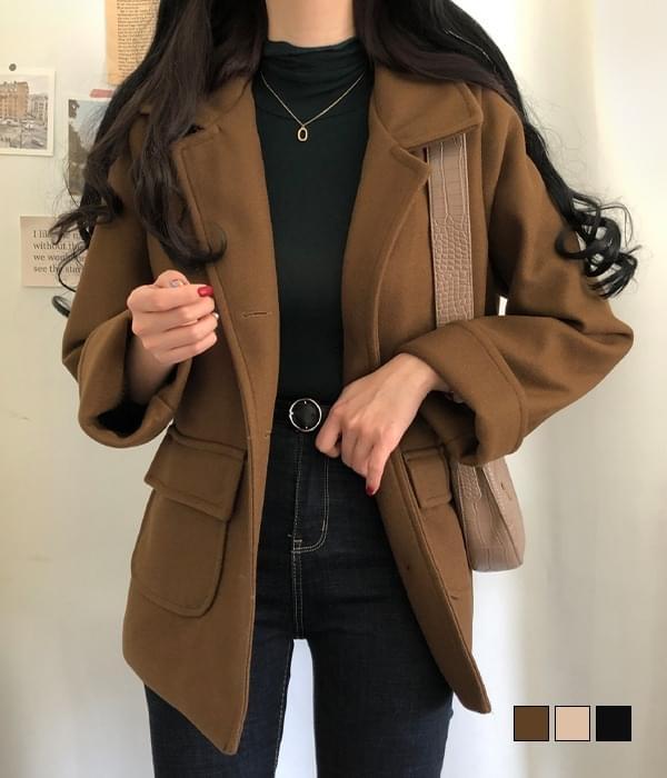 노트 누빔 하프 코트 (인기상품 배송지연)