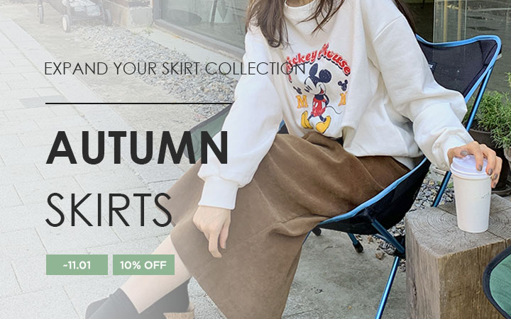 EXPAND YOUR SKIRT COLLECTION