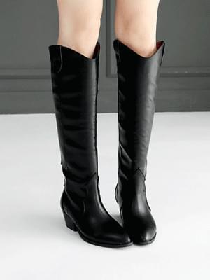 Lacoat Western Long Boots 4cm 靴子
