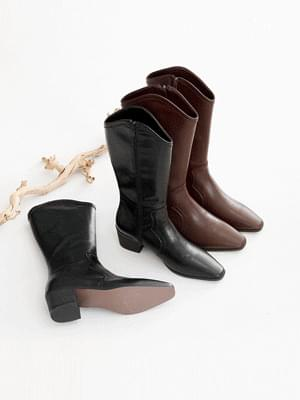 Rotetsu Western Long Boots 5cm 靴子