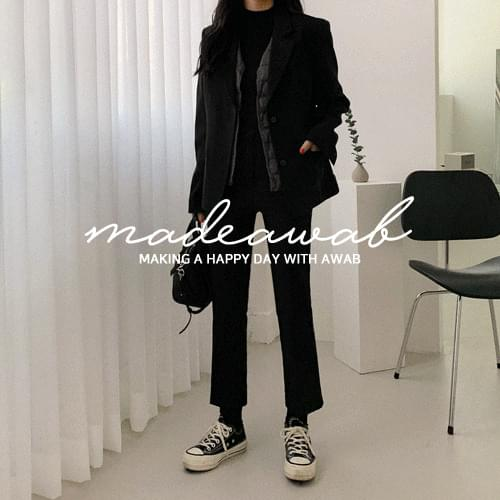 #MADEAWAB:_covered tailored jacket jacket