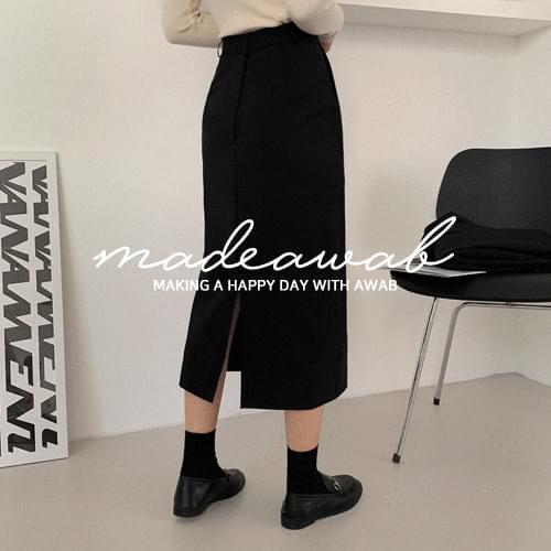 #MADEAWAB:_Cover H long skirt skirt