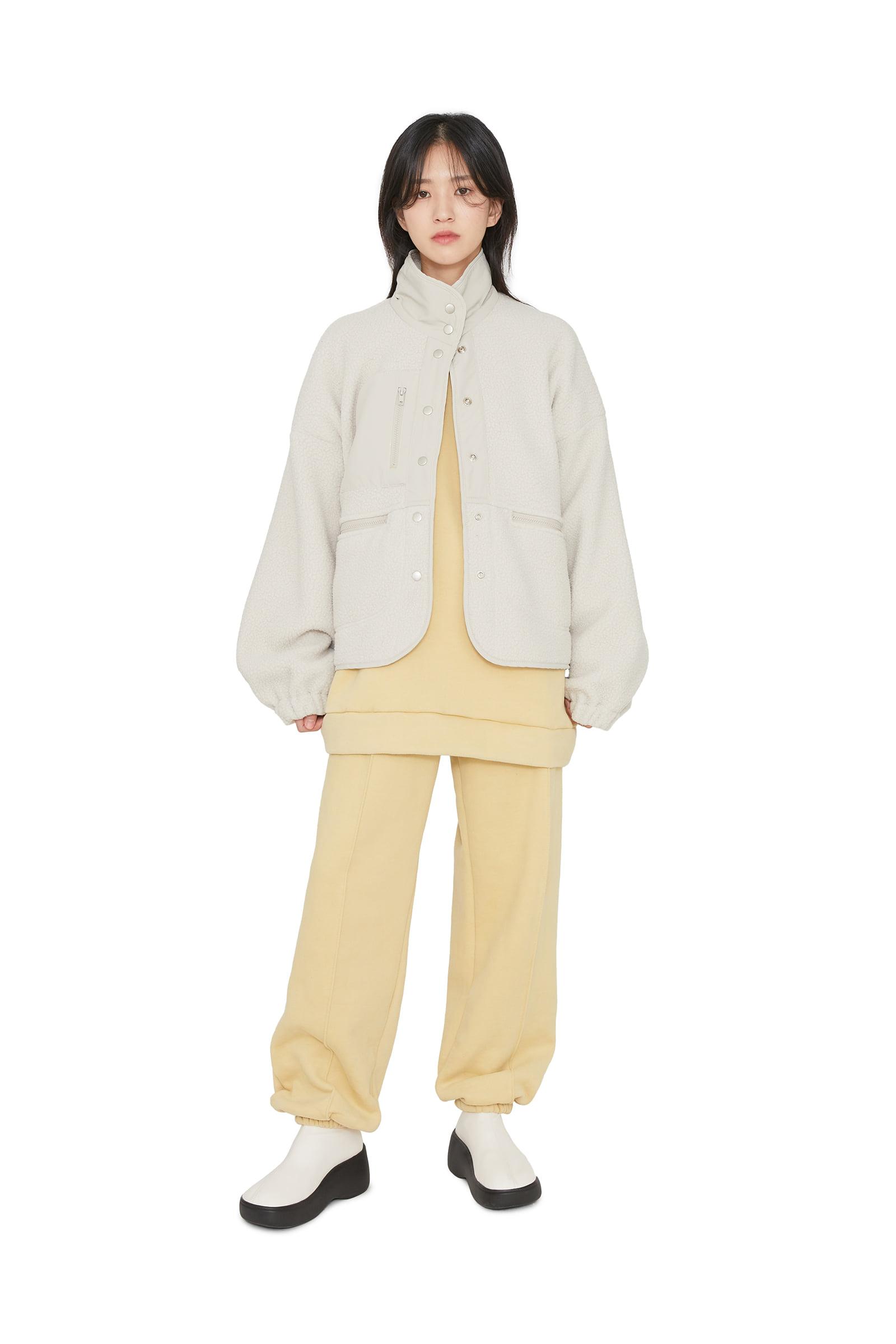 Roy fleece bomber jacket