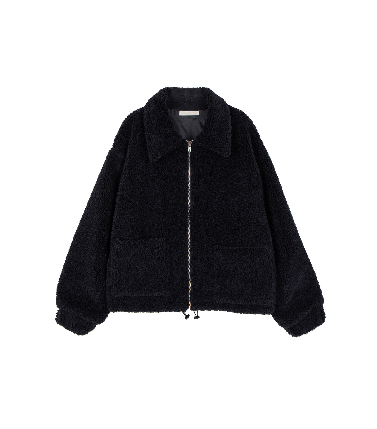 Bearing overfit shearling jacket