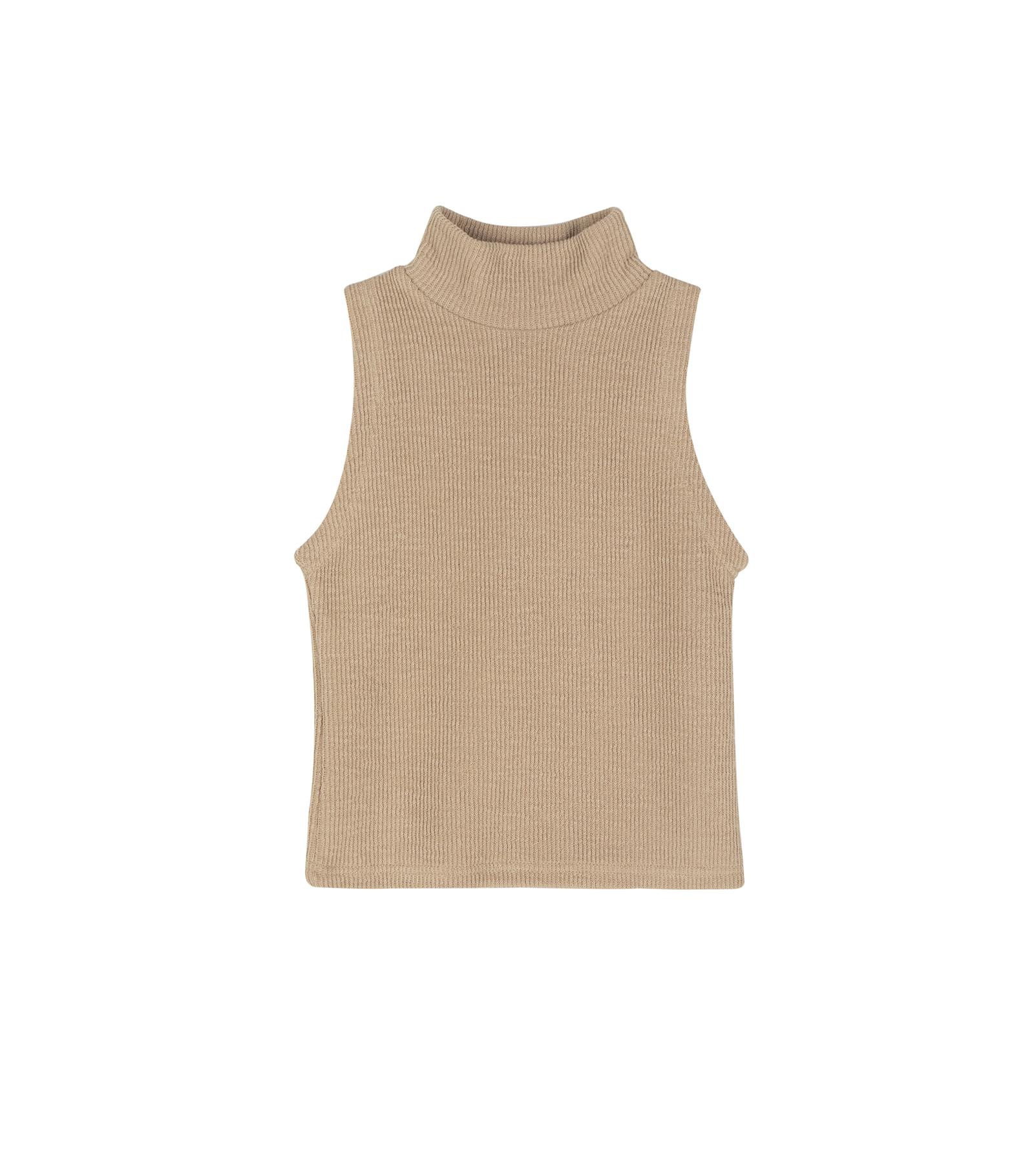 Matilda turtleneck sleeveless set top