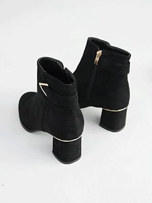 Rivetin ankle boots 5cm 靴子