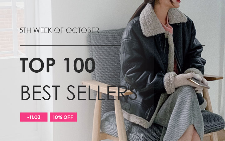 TOP 100 BEST SELLERS - 5TH WEEK OF OCTOBER