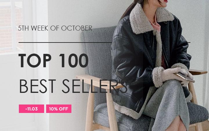 TOP 100 BEST SELLERS - 5TH WEEK OF OCTOBER