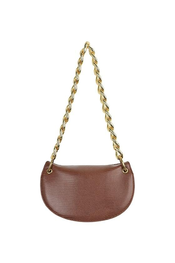 Rare half moon two-way chain shoulder bag 肩背包