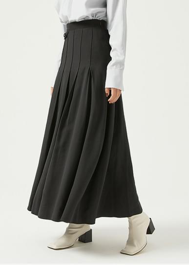 韓國空運 - Fake pleated skirt 裙子