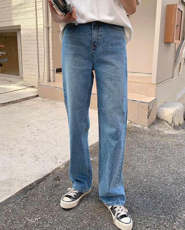 Kelton straight denim pants