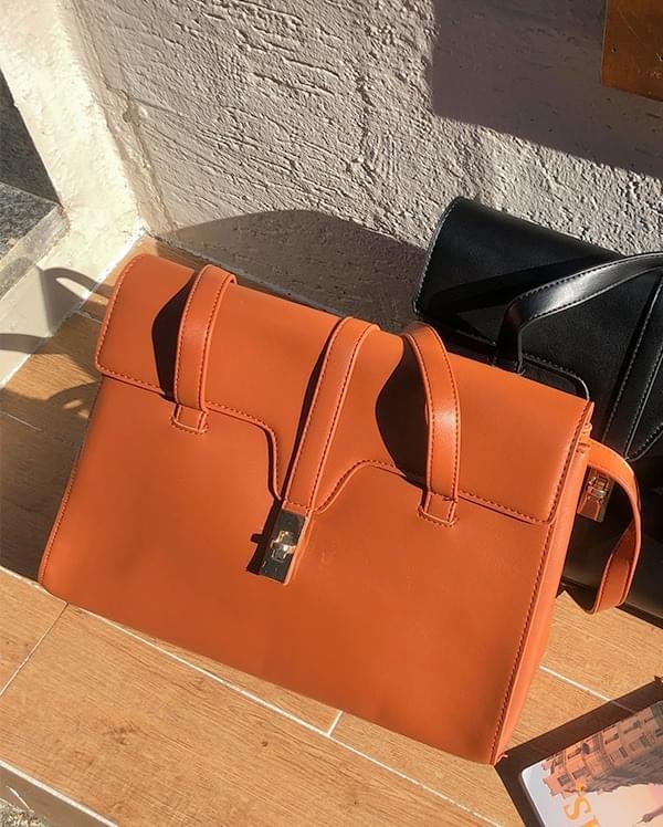 Flap square shoulder bag