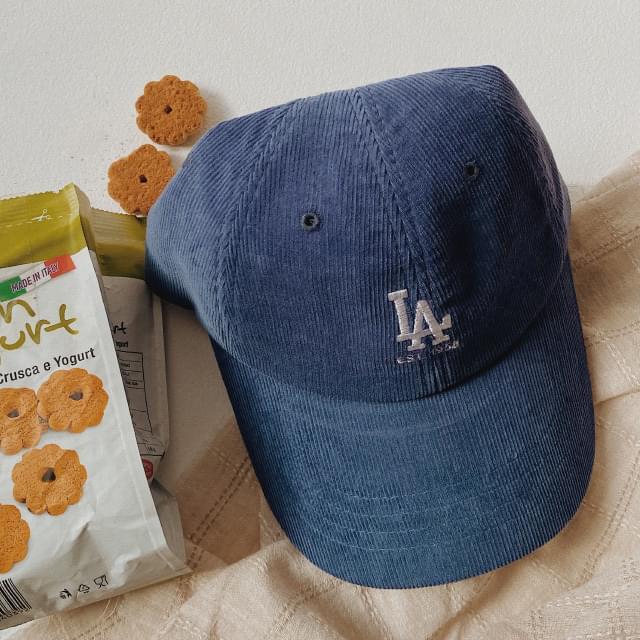 Crayon Corduroy Simple Ball Cap 帽子