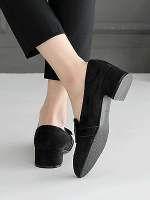 Leathon loafers 4cm 樂福鞋