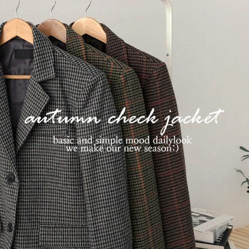 Radiant check jacket