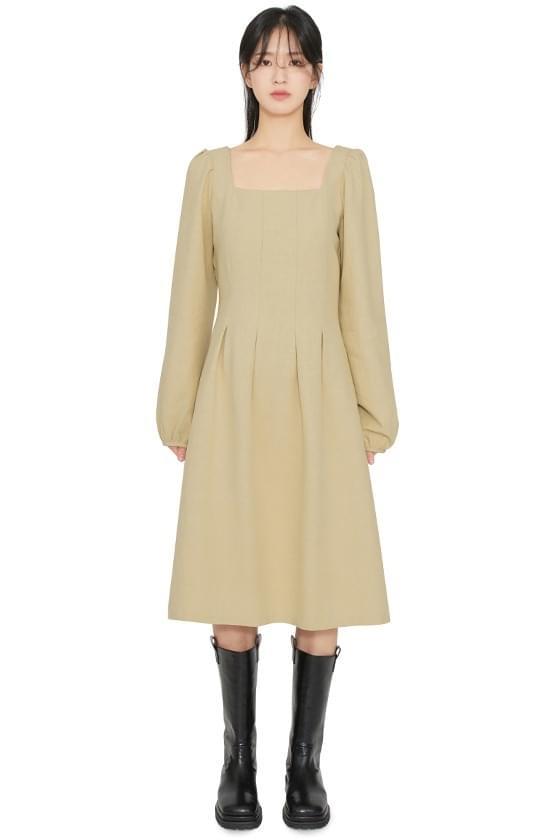Lovely square midi dress
