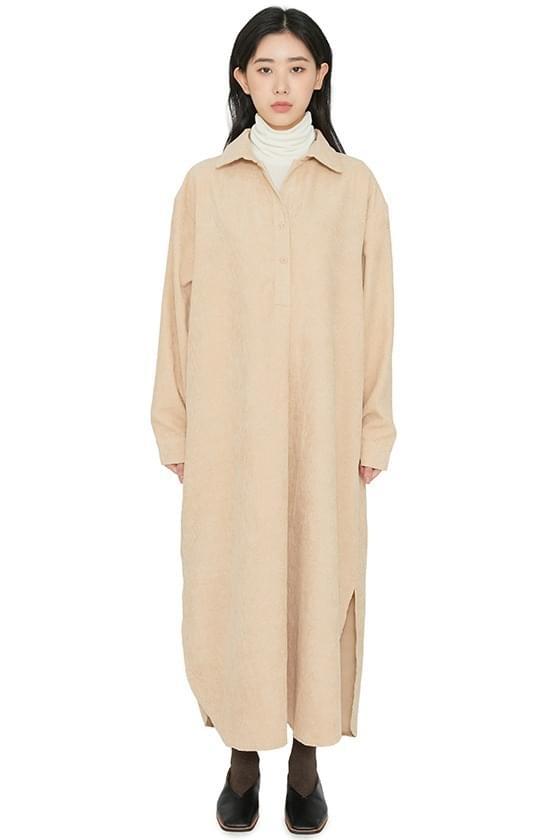 Roy corduroy maxi dress