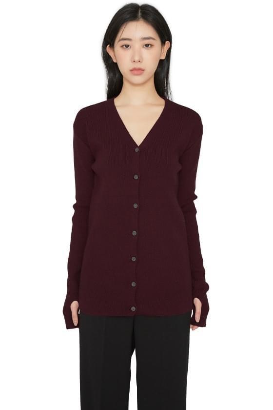 Pla V-neck warmer cardigan