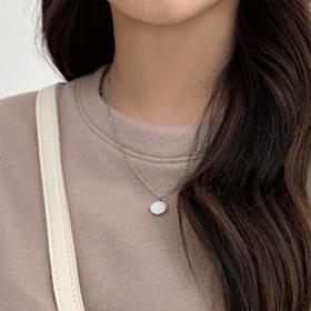 Deer coin necklace 項鍊