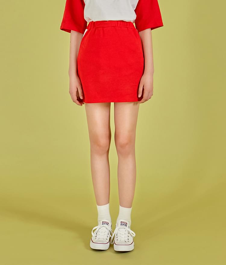 NEVERM!NDContrast Side Panel Mini Skirt 裙子