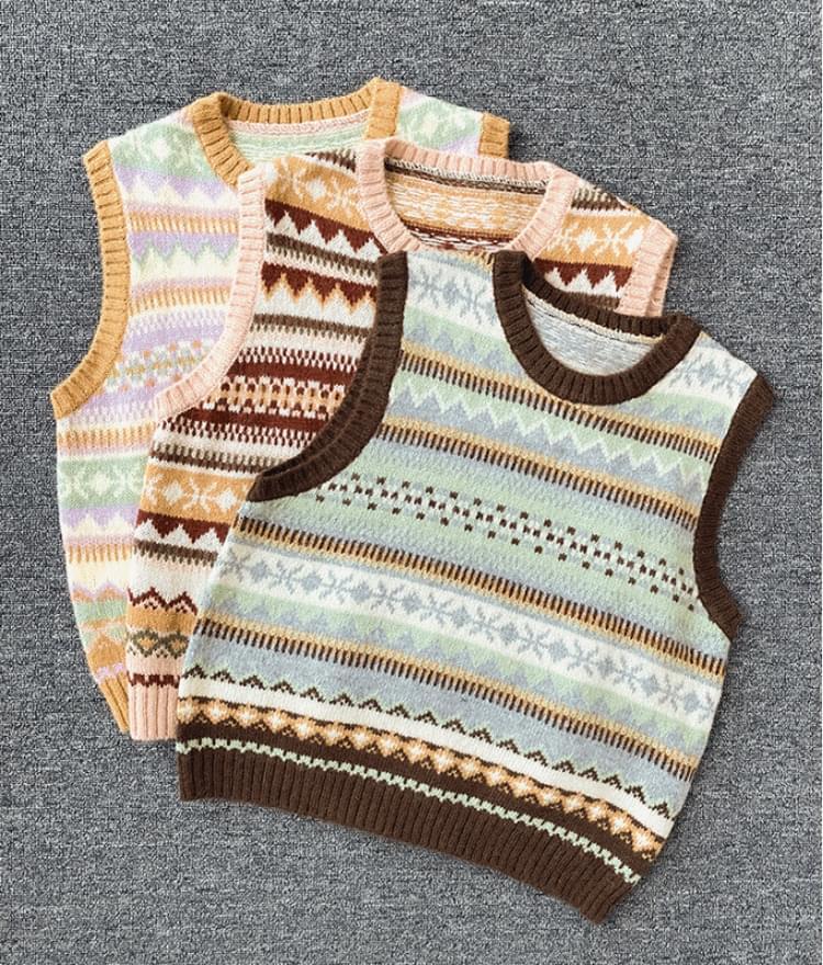 Alpha Zahad Knit Vest 開襟衫