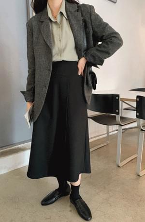 Ila layered wrap skirt 裙子
