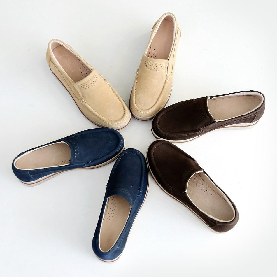 I like wedge full heel loafers 5cm 樂福鞋