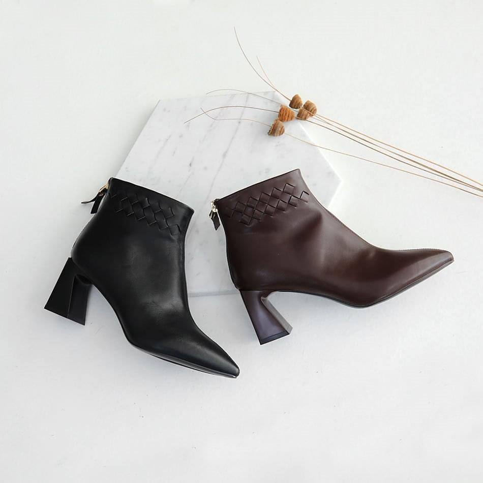 Peach Ankle Boots 7cm 靴子