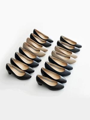 Entor leather middle & high heels 4,7cm 跟鞋