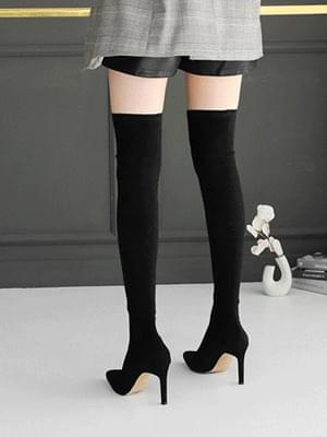 Pit Bully Socks Knee High Boots 9cm 靴子